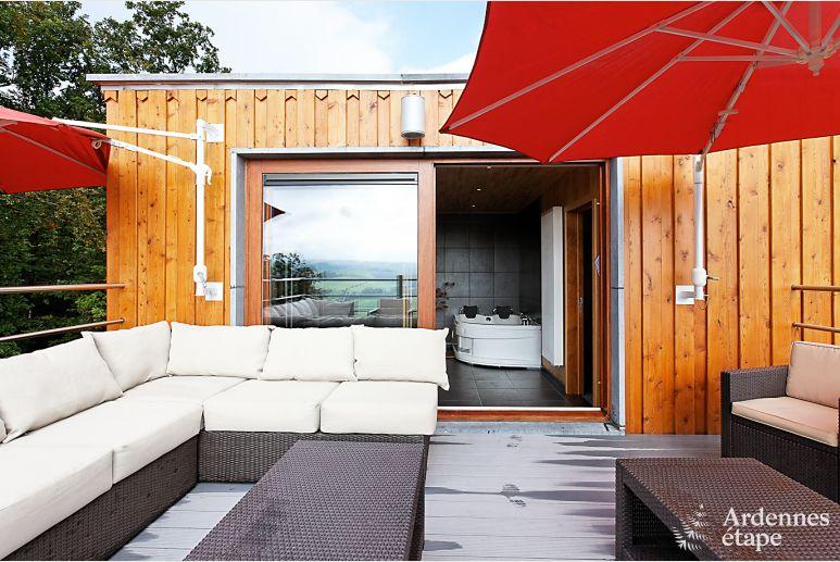 luxus ferienhaus mit wellness f r 16 personen in beauraing. Black Bedroom Furniture Sets. Home Design Ideas