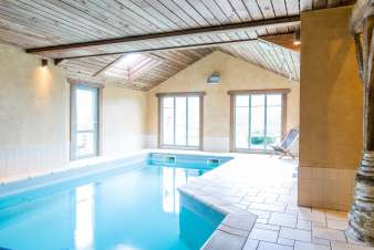 Cottage Houffalize 24 Pers. Ardennen Schwimmbad Wellness