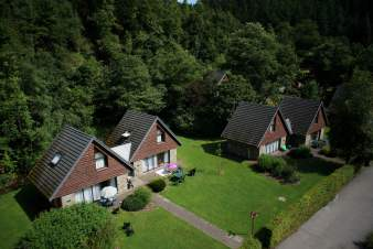 Chalet Malmedy 8/10 Pers. Ardennen Schwimmbad Wellness