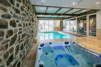Ferienhaus Theux 6/8 Pers. Ardennen Schwimmbad Wellness