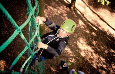 Forestia Aventure (Abenteuerstrecke)-Sports Aventure bis Provinz Lüttich