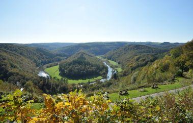 Grab des Riesen-Point de vue bis Provinz Luxemburg