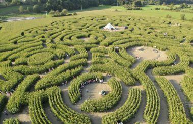 Labyrinth-Centres récréatifs bis Provinz Luxemburg