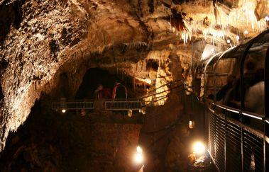 Grotten von Hotton -Grottes bis Provinz Luxemburg