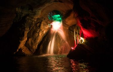 Neptun-Grotten -Grottes bis Provinz Hennegau