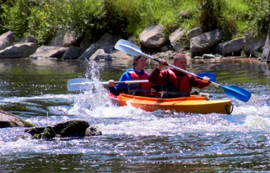 Kayak Les Remous-Kayak bis Provinz Lüttich