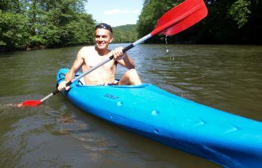 Kayak au Domaine de Palogne-Kayak bis Provinz Lüttich