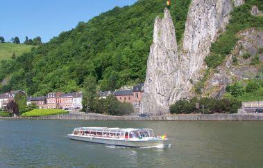 <p>Dinant Evasion : croisières sur Meuse</p>-Croisière bis Provinz Namur