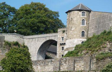 Promenades à la Citadelle de Namur-Promenades pédestres balisées bis Provinz Namur