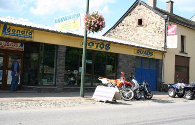 Léonard Vélos-Location VTT bis Provinz Luxemburg
