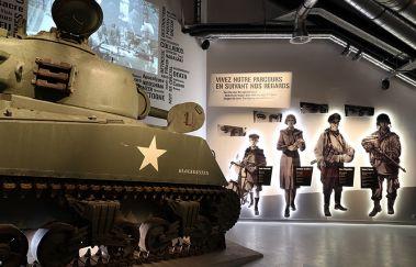 Bastogne War Museum-Musée bis Provinz Luxemburg