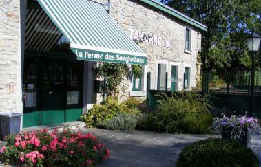 Bauernhof von Sanglochons -Musée bis Provinz Luxemburg