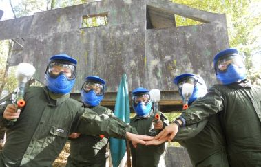 Gaume Paintball-Paint-ball bis Provinz Luxemburg