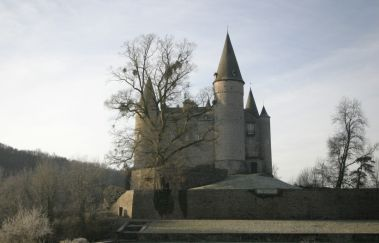 Burg von Vêves-Chateaux bis Provinz Namur