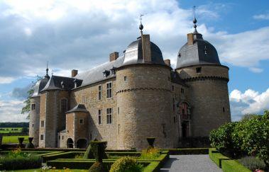 Schloss von Lavaux-Sainte-Anne-Chateaux bis Provinz Namur