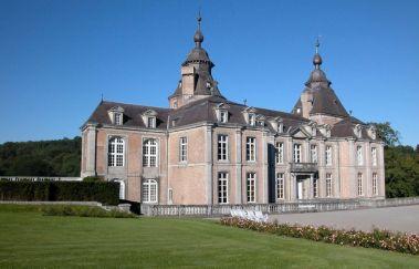 Schloss von Modave-Chateaux bis Provinz Lüttich