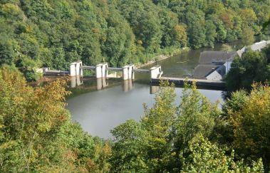 Barrage et Lac de Nisramont-Lac bis Provinz Luxemburg