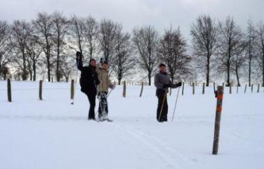 Piste de ski du Centre Sportif Worriken-Ski de fond bis Provinz Lüttich