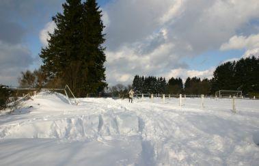 Pistes de ski du Béniké-Ski de fond bis Provinz Lüttich