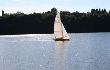 Lac de Butgenbach - Centre de Worriken-Sports et loisirs bis Provinz Lüttich