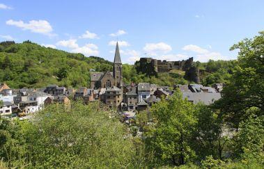 La Roche-en-Ardenne-Ville bis Provinz Luxemburg