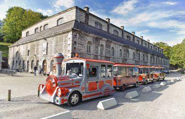 Petit Train de la Citadelle de Namur-Train touristique bis Provinz Namur